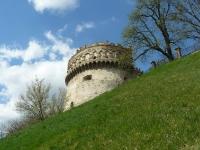 Центральная башня замка князей Острожских в г. Острог