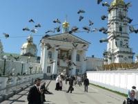 Вход на территорию Почаевской лавры