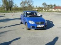 Габаритная подготовка на площадке- в нашем распоряжении целый автодром