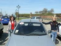 4-й экипаж, наши звёздочки: девчёнки Аня и Оля, самые юные участники путешествия